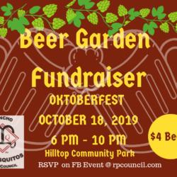 PQ Oktoberfest Beer Garden Fundraiser 2019