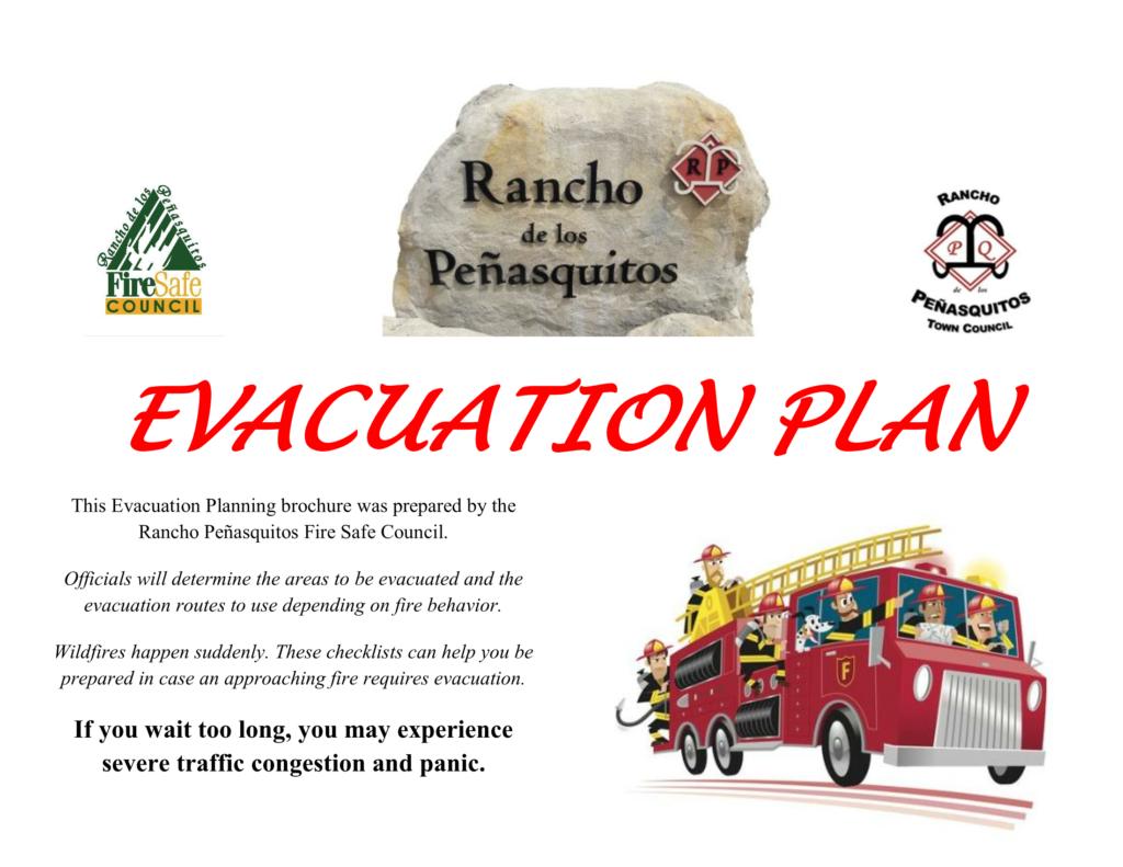 Rancho Penasquitos Disaster Evacuation Plan 2021